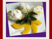 Pfirsichgrieß Dessert - Rezept