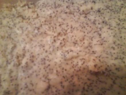 Mohn-Quark-Eis - Rezept