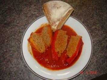 Fleisch : gefüllte Paprika - Rezept