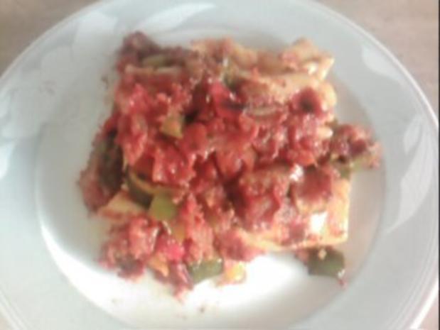 Cannelloni mit Gemüsesauce - Rezept