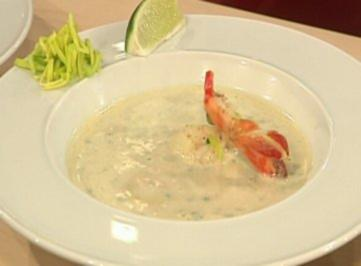 Thai-Lauchsuppe mit Thymiancroutons à la Ralf Zacherl - Rezept