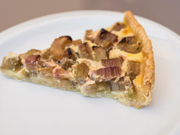 Rharbarberkuchen - Rezept - Bild Nr. 2