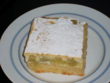"""Rhabarberkuchen nach """"Art des Hauses"""" - Rezept"""