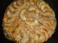 Apfelkuchen ohne Boden - Rezept