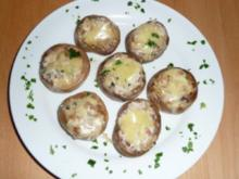 Champignons gefüllt - Rezept