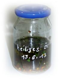 Heiliges Öl - Rezept