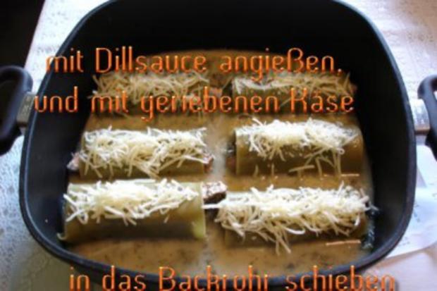 Kräuterlachs im Lasagneblatt - Rezept - Bild Nr. 4
