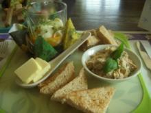 Lachstatar und Eier im Glas - Rezept