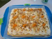 Mandarinen-Sahne-Schnitten - Rezept
