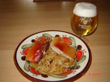 Rezept: Fleisch : Knuspriger Spanferkelrücken