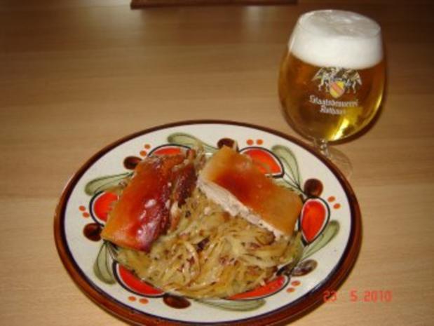 Fleisch : Knuspriger Spanferkelrücken - Rezept