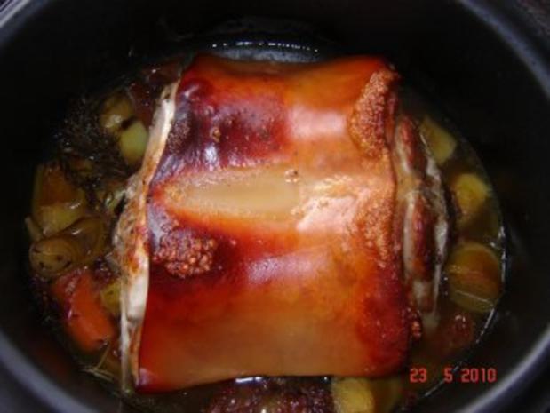 Fleisch : Knuspriger Spanferkelrücken - Rezept - Bild Nr. 4