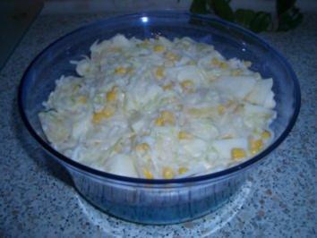 Poree - Maissalat - Rezept