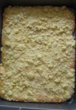 Streuselkuchen aus Hefeteig - Rezept