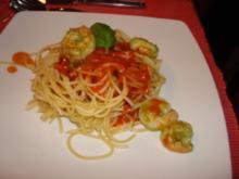 Spaghetti Scampi - Rezept