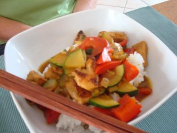 Scharfes Thai-Curry - Rezept