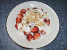 Erdbeeren mit Joghurt... - Rezept