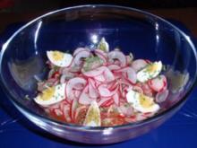 Radischen-Birnensalat - Rezept
