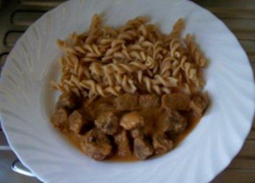 Rezept: Kochen: Rindfleischgulasch ..... anno 1937