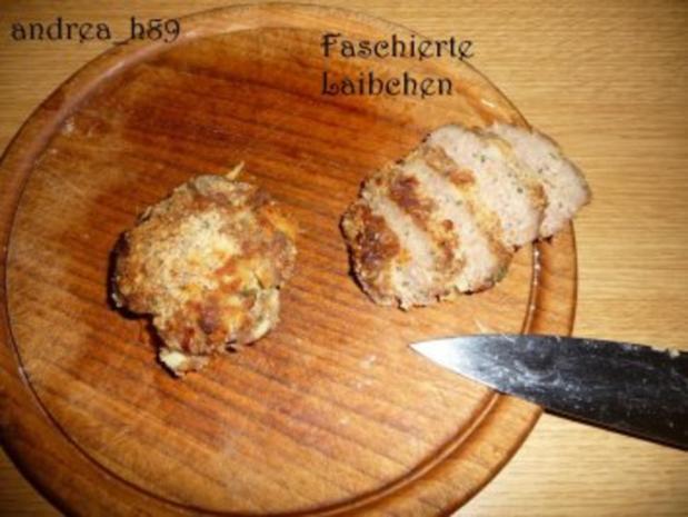 Vogerlsalat mit Faschiertem und Äpfeln - Rezept - Bild Nr. 3