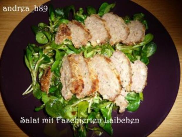 Vogerlsalat mit Faschiertem und Äpfeln - Rezept - Bild Nr. 5