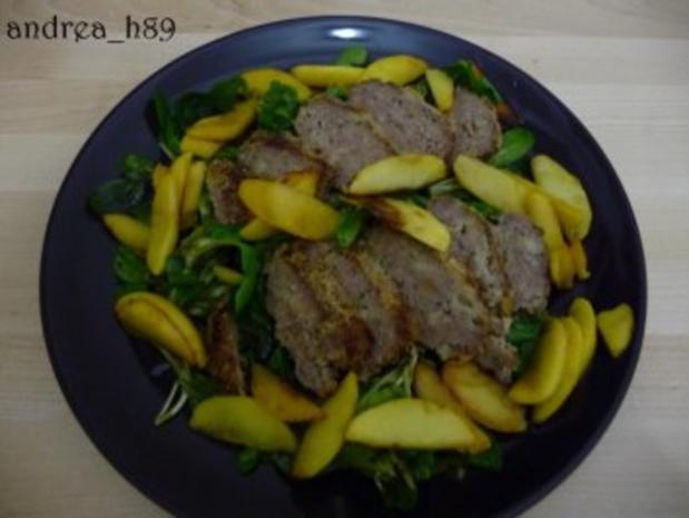 Vogerlsalat mit Faschiertem und Äpfeln - Rezept - Bild Nr. 6
