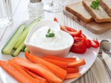 Dip für Rohkost ( Möhren, Paprika etc. ) oder aus Aufstrich für Kräcker - Rezept - Bild Nr. 2