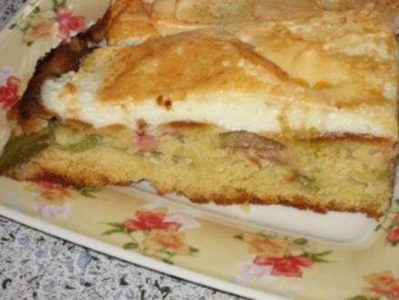 Kuchen - Jetzt kommt Rhabarbera - Rezept
