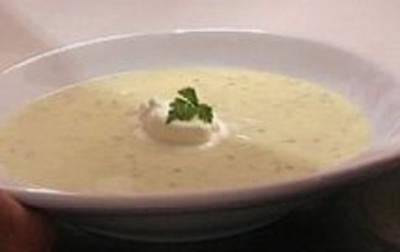Kohlrabisuppe mit Kerbel - Rezept