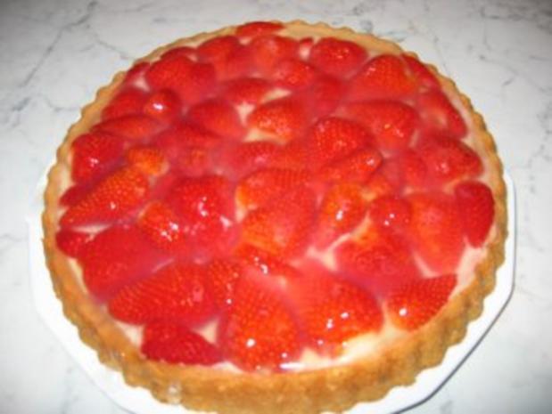 Erdbeeren treffen Pudding - Rezept - Bild Nr. 3