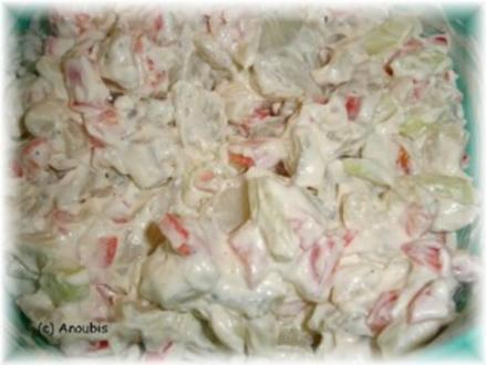Salat - Topinambursalat - Rezept