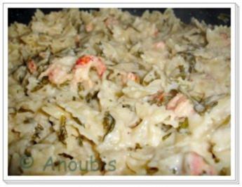 Meer - Pasta mit Flusskrebs und Rauke - Rezept
