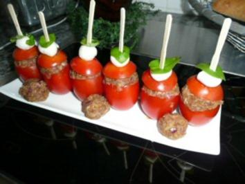 GRILL:gefüllte Tomaten - Rezept