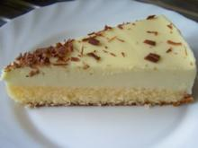Backen: Weiße Schoko-Trüffel-Torte - Rezept
