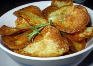Rosmarin-Kartoffelchips - Rezept