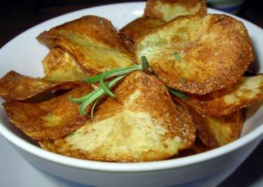 Rezept: Rosmarin-Kartoffelchips