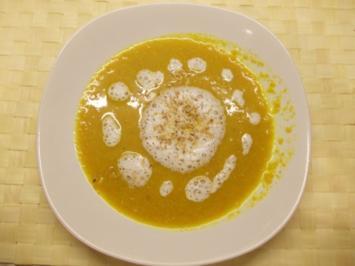 Karotten-Kokos-Suppe - Rezept