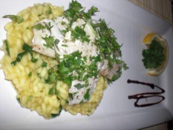 Fisch im Kräutermantel - Rezept