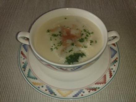 Spargel-Creme-Suppe - Rezept
