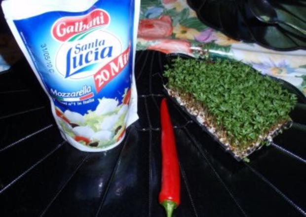 Bunte Mini-Mozzarella-Kugeln - Rezept - Bild Nr. 2