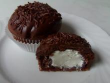 Cremegefüllte Schoko-Muffins - Rezept