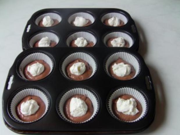 Cremegefüllte Schoko-Muffins - Rezept - Bild Nr. 2