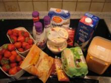 Torte - Cremiges aus Erdbeeren - Rezept