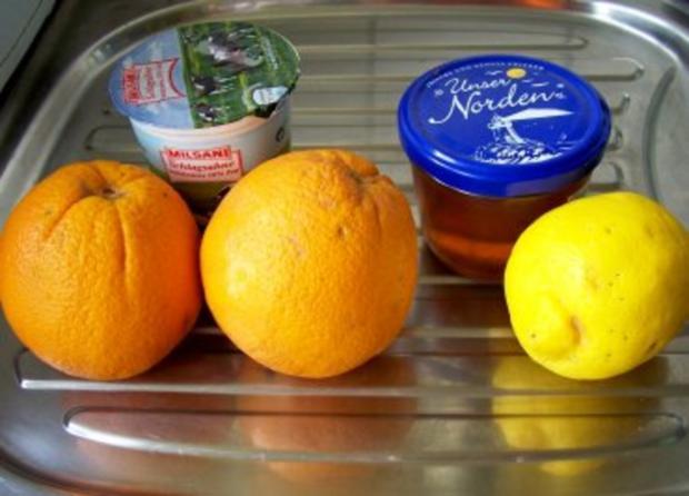 Dessert: Orangen-Sahne-Eis - Rezept - Bild Nr. 2