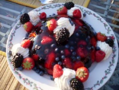 Sommerliches Beerendessert - Rezept