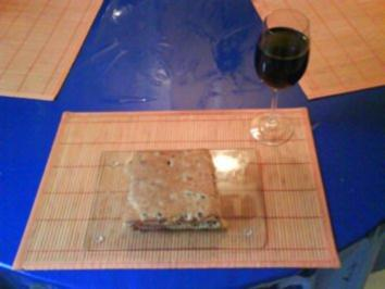 Abendbrot: Focaccio belegt 2 - Rezept