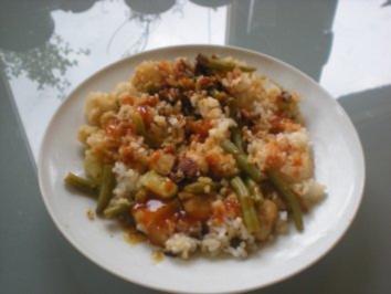 Geflügel: Putenfilet Sukiyaki - Rezept