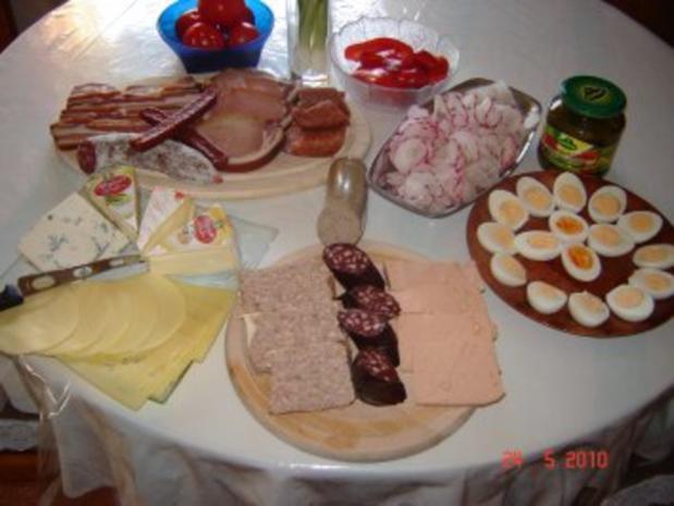 Kalte Küche : Vesper - Rezept mit Bild - kochbar.de