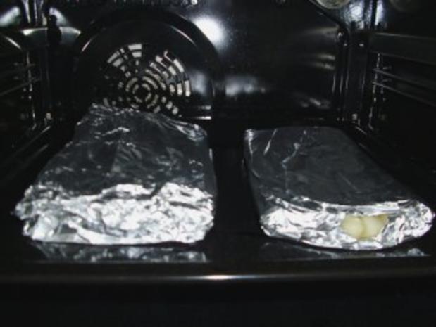 Spargel in Alufolie im Ofen gegart - Rezept - Bild Nr. 3