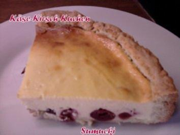 Käse-Kirsch-Kuchen - Rezept